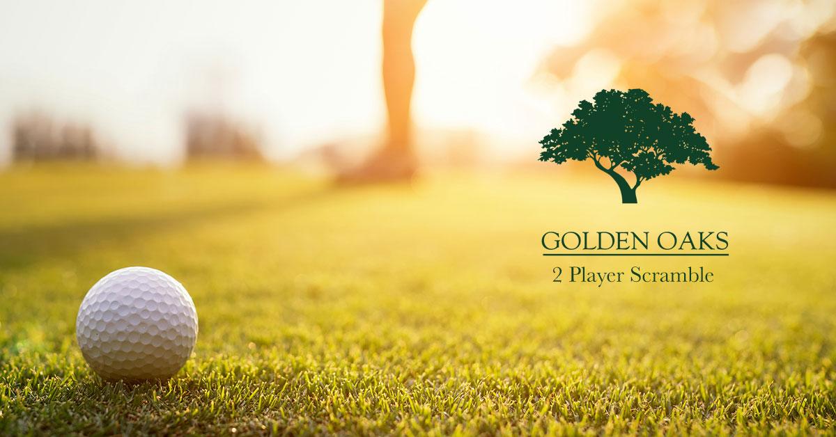 2 Player Scramble | Golden Oaks Golf Club
